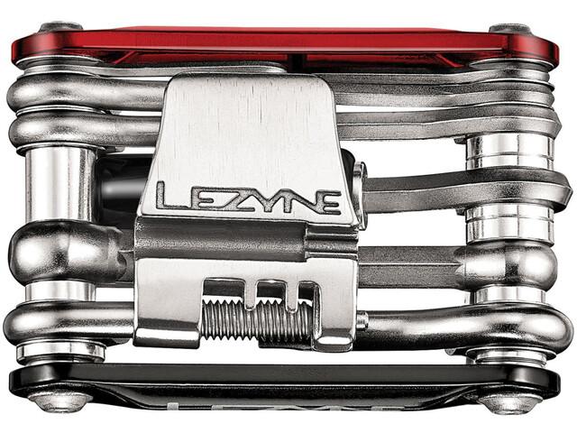 Lezyne Rap-15 CO2 Multifunktionswerkzeug rot/schwarz